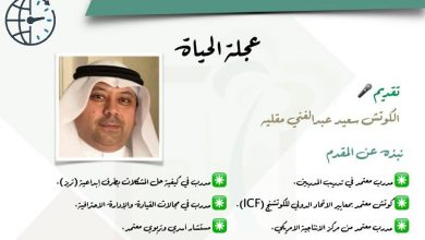 "Photo of لقاء "" عجلة الحياة "" بتقديم الكوتش سعيد عبدالغني مقليه"